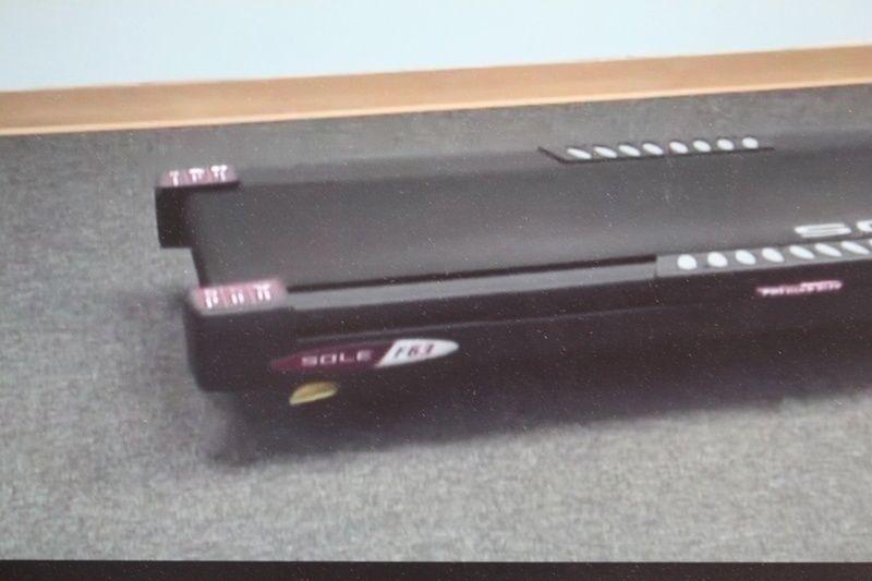 sole f63 treadmill running belt